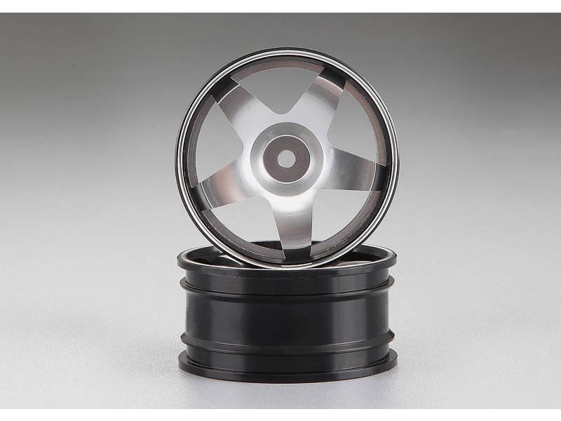 Killerbody Alfa Romeo 75 Turbo 1:10 - hliníkové disky kol stříbrné KB48480SIL