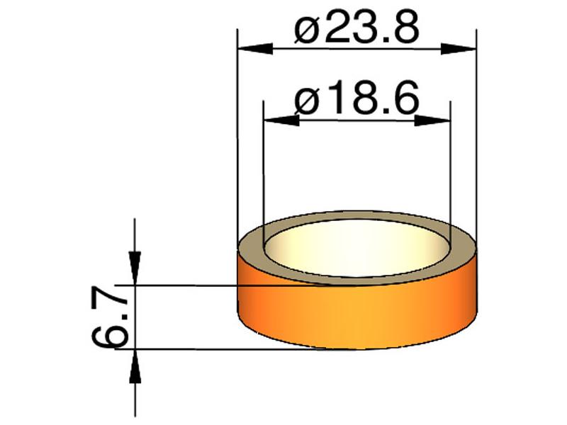 Klima Kroužek 24mm