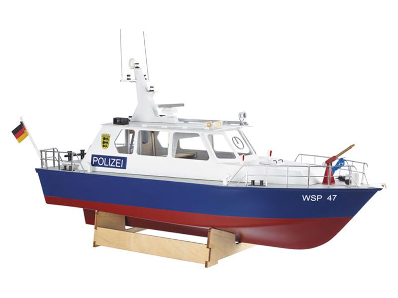 Policejní člun WSP47 (kit)