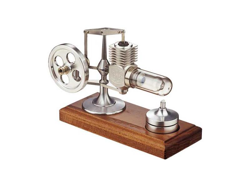 Krick Motor Stirling hliníkový smontovaný