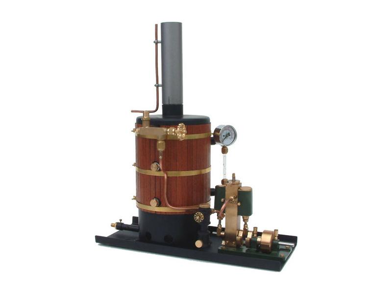 Krick Parní stroj Victor - kotel s hořákem