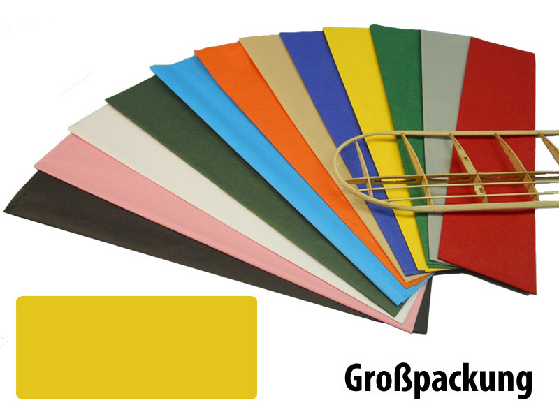 Krick potahový papír žlutý 18g/m2 51x76cm (50)