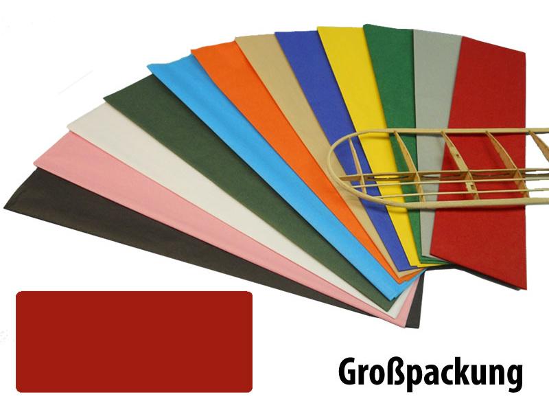 Krick potahový papír červený 18g/m2 51x76cm (50)