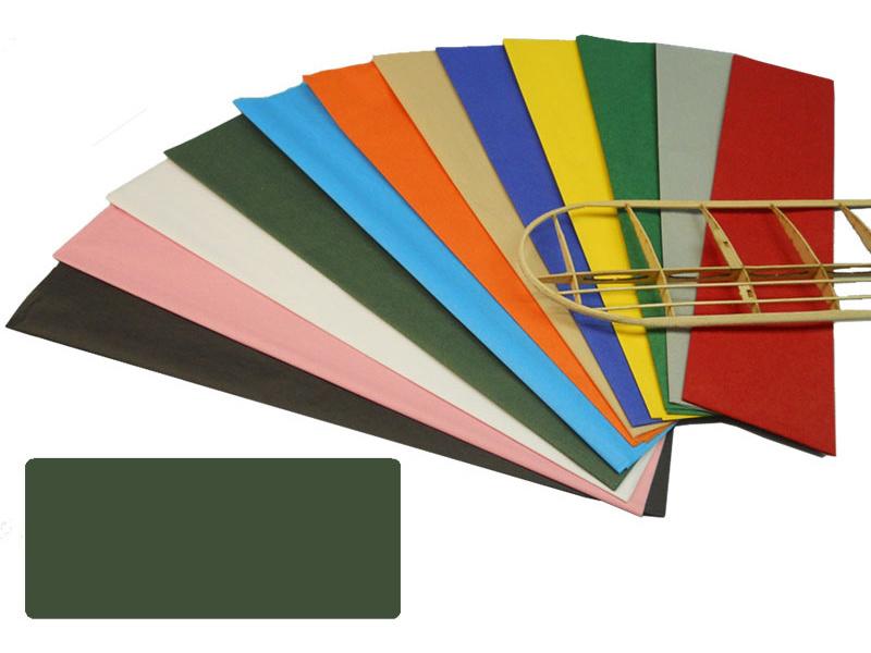 Krick potahový papír tmavě zelený 18g/m2 51x76cm (50)