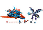 LEGO Nexo Knights - Clayův letoun Falcon Fighter Blaster