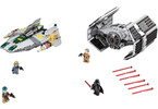 LEGO Star Wars TM - Vaders TIE Advanced vs. A-Wing Starfighter