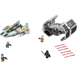 LEGO Star Wars™ - Vaders TIE Advanced vs. A-Wing Starfighter