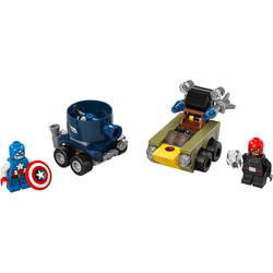 LEGO Super Heroes - Mighty Micros: Kapitán America vs. Red Skull