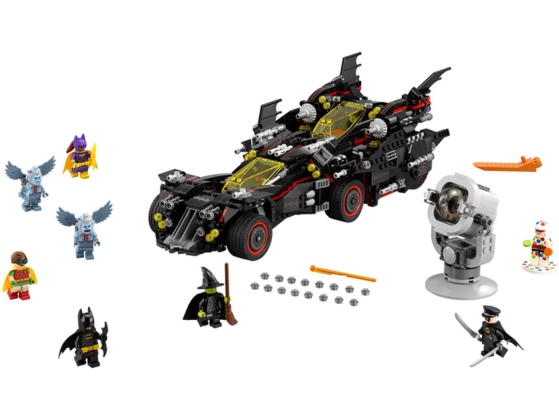 LEGO Batman Movie - Úžasný Batmobil