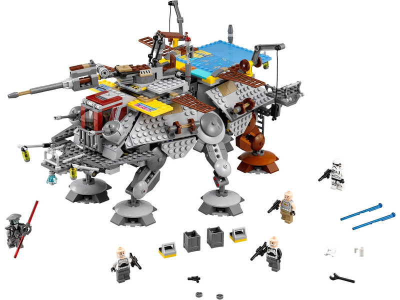 LEGO Star Wars - AT-TE kapitána Rexe