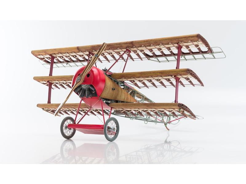 MODEL AIRWAYS Fokker DR1 Dreidecker 1:16 kit