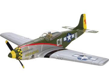 P-51D Mustang Gunfighter RTF Electric 2.4GHz Mód 1 / PKZ2200M1