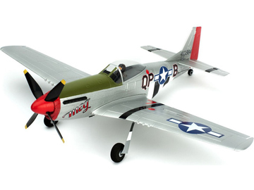 P-51D Mustang Ultra Micro AS3X RTF Mode 1 / PKZU2400M1