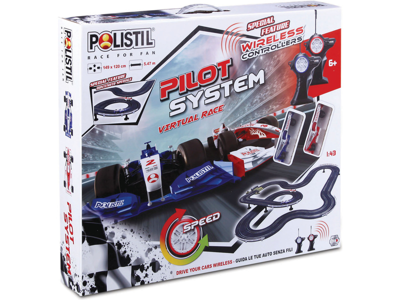 Polistil Autodráha 1:43 Pilot System Wireless