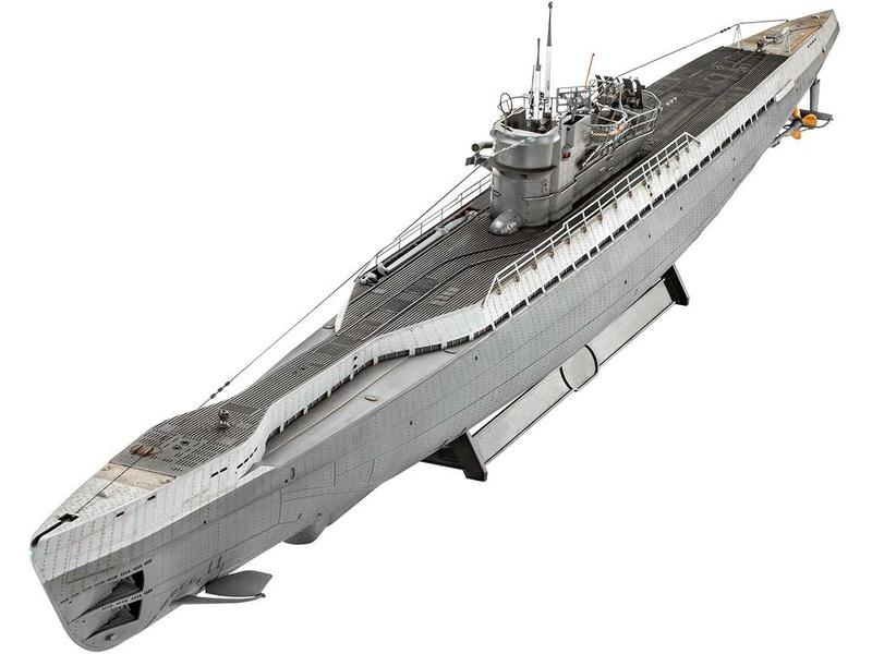 Revell Německá ponorka Type IX C/40 1:7