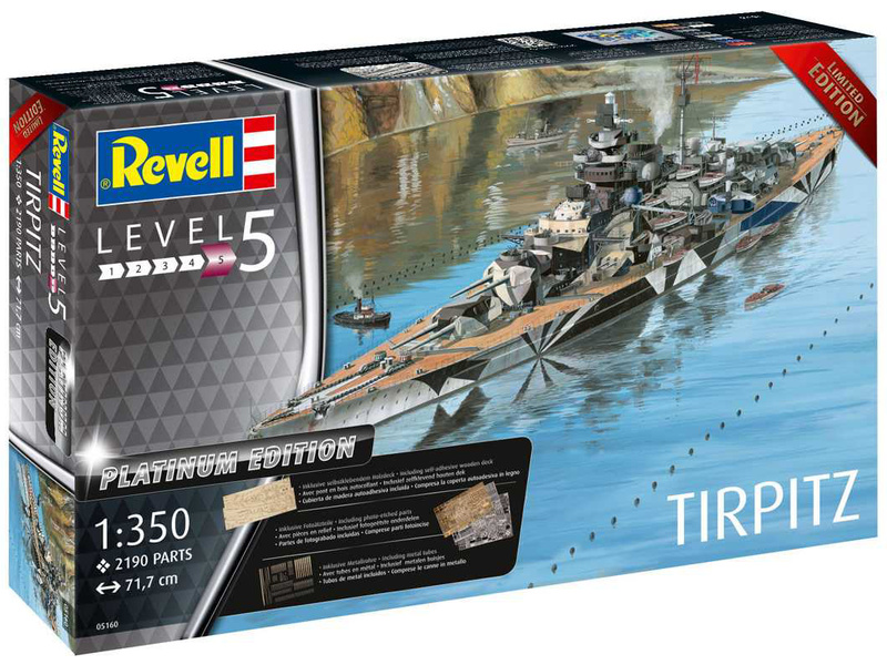 Revell Tirpitz Platinum Edition (1:350)