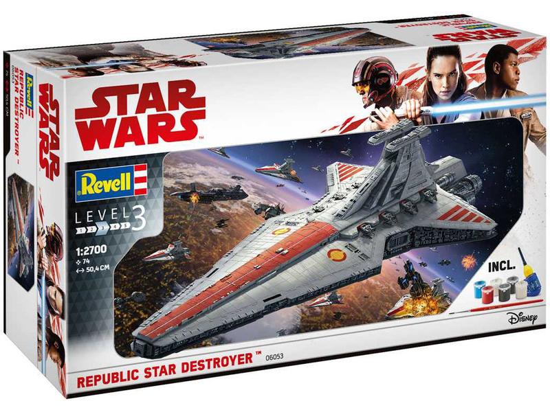 Revell Gift Set SW Republic Star Destroyer (1:2700)