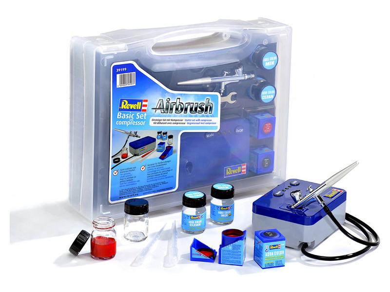 Revell Airbrush Basic Set s compresorem