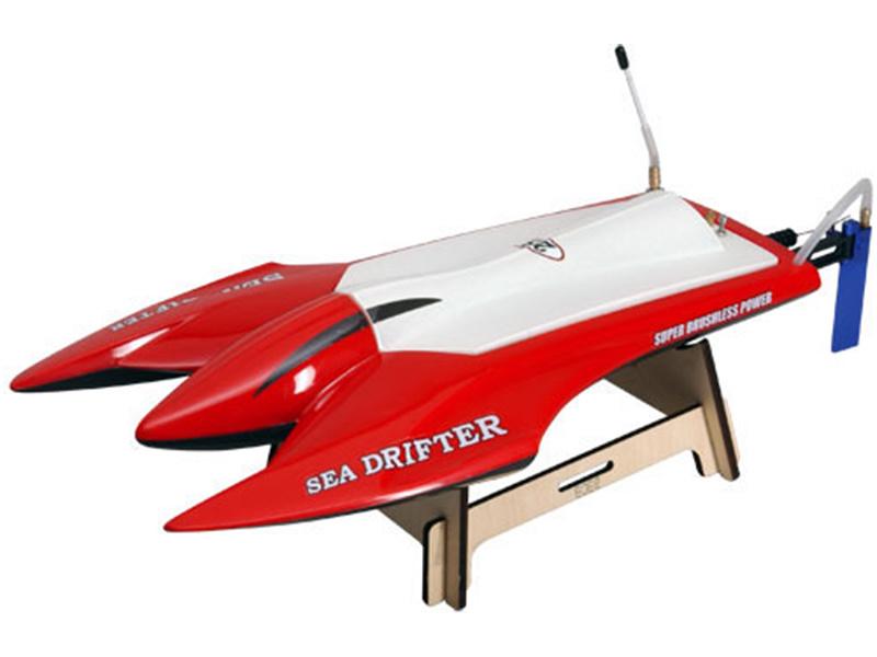 Offshore Sea Drifter 2.4GHz RTR červená