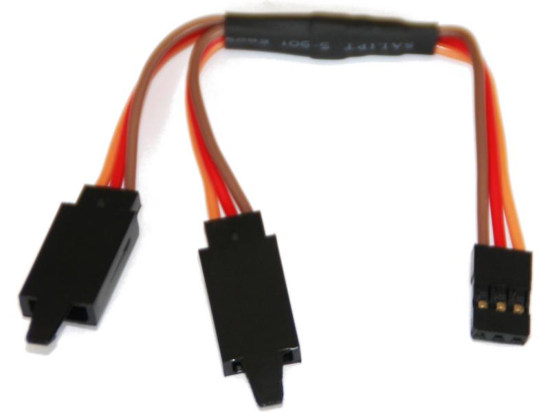 Kabel serva Y SPM/JR s klipem HD 10cm