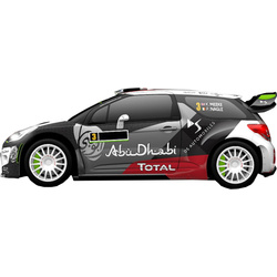 "SCX Citroën DS3 WRC ""Rally Portugal"""