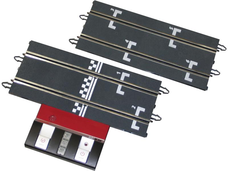 SCX WOS Cielová rovinka s riadiacou jednotkou