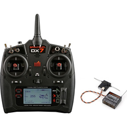 DX7 DSMX Spektrum Air-Heli AR8000 Mód 1-4