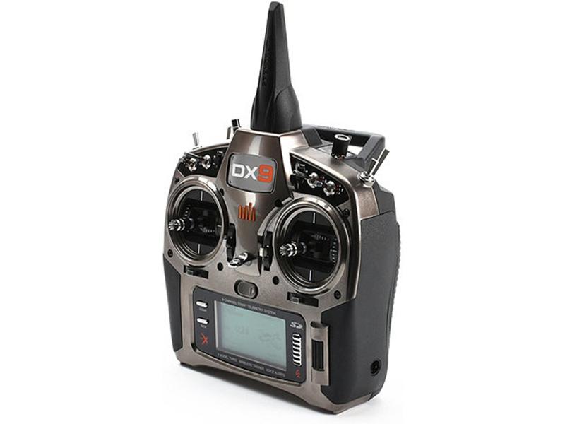 Spektrum DX9 DSMX Black Edition, AR9020 SPM9900EU