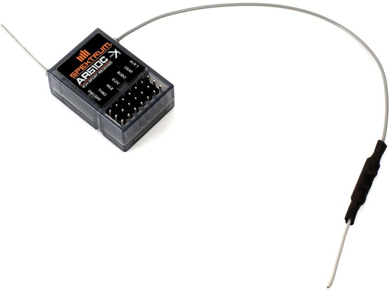Spektrum přijímač AR610C DSM2/DSMX 6CH Micro