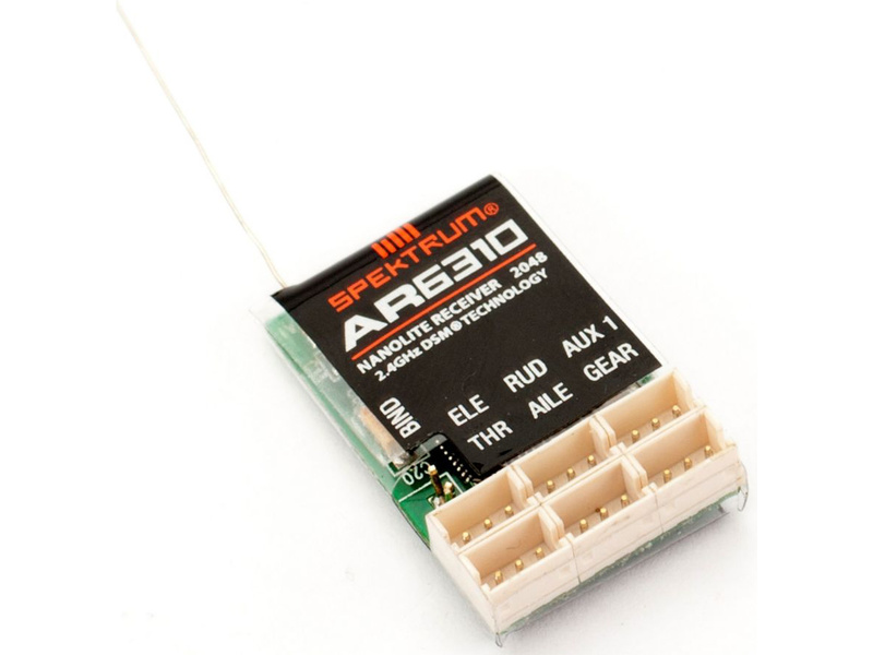 Spektrum DSM X - prijímač 6CH Nanolite AR6310