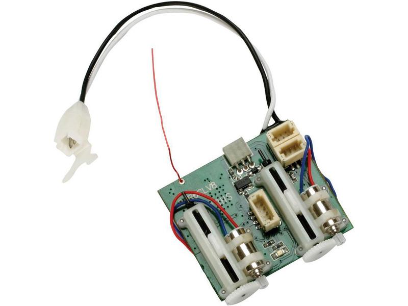 Spektrum přijímač AR6410L DSM2/DSMX 6CH UMX ESC/S L SPMAR6410L