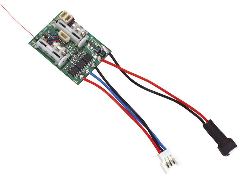 Spektrum DSM X - přijímač 6CH UltraMicroESC/S/BL