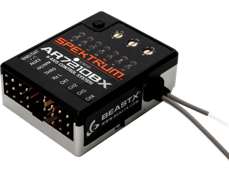 Spektrum přijímač AR7210BX DSM2/DSMX 7CH Heli BeastX SPMAR7210BX