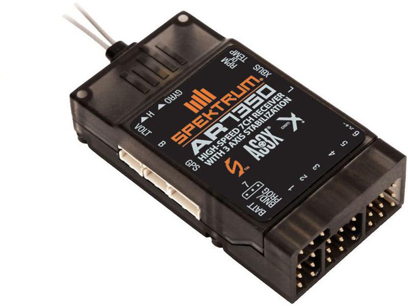 Spektrum přijímač AR7350 DSM2/DSMX 7CH AS3X SPMAR7350