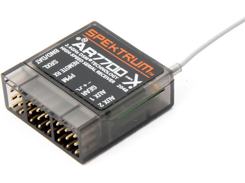 Spektrum přijímač AR7700 DSM2/DSMX 7/18CH Serial SPMAR7700