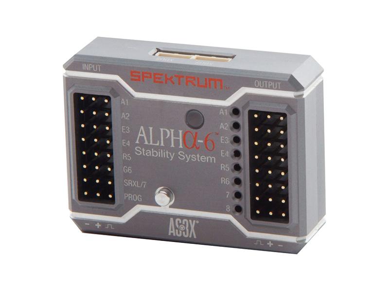 Spektrum Stablilizační systém Alpha-6 AS3X SPMAS1000