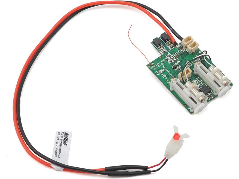 Spektrum DSM X - přijímač 6CH AS6410T AS3X 2xESC SPMAS6410T