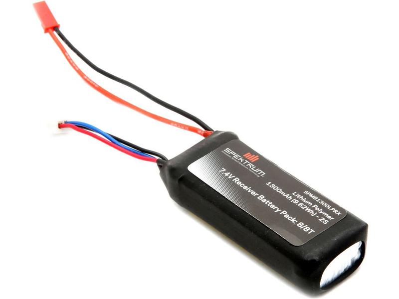 Spektrum - baterie přijímače LiPol 7.4V 1300mAh JST SPMB1300LPRX