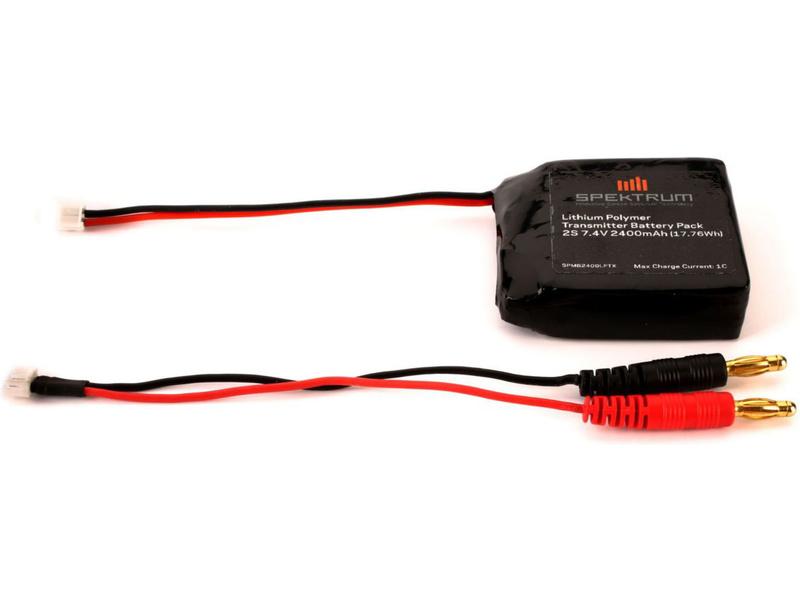 Spektrum - baterie vysílače LiPol 2400mAh DX4S SPMB2400LPTX