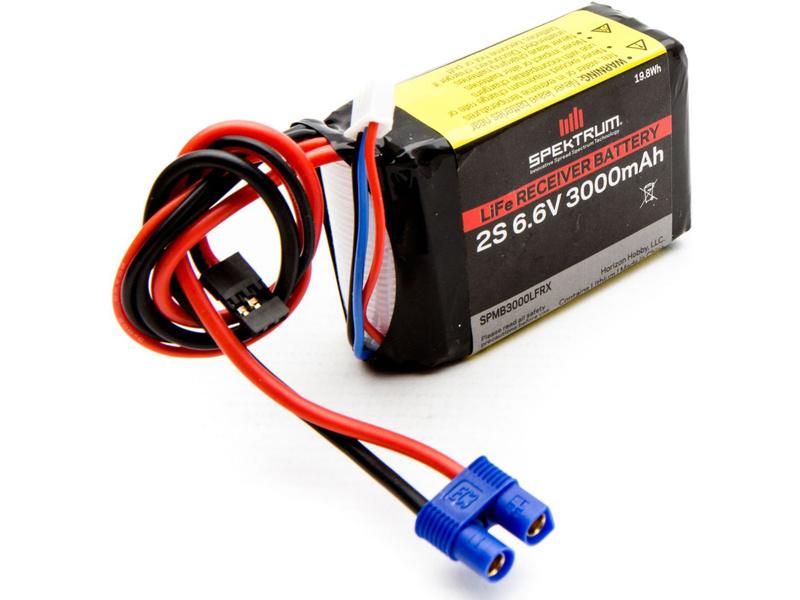 Spektrum - baterie přijímače LiFe 6.6V 3000mAh SPMB3000LFRX
