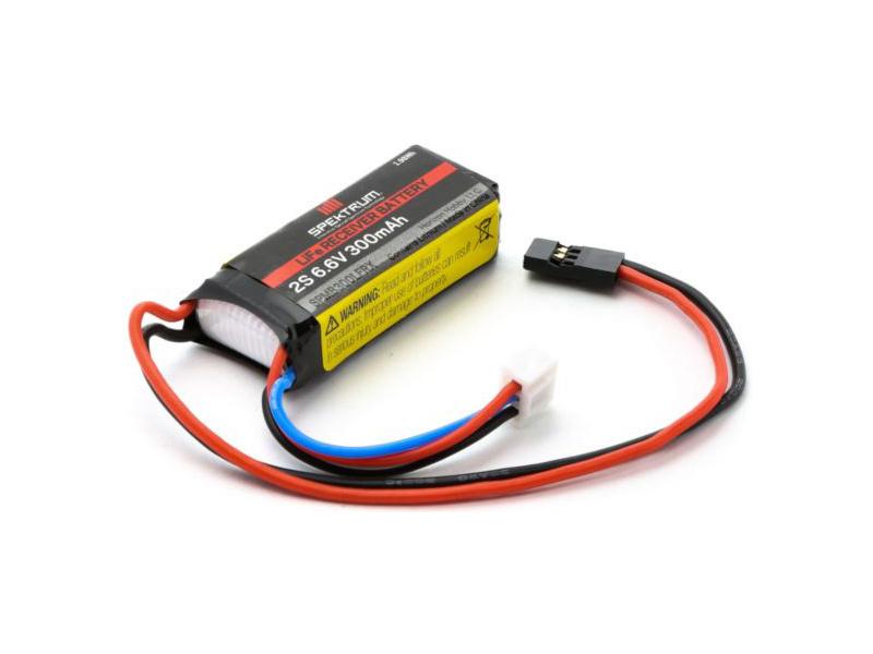 Spektrum - baterie přijímače LiFe 6.6V 300mAh SPMB300LFRX