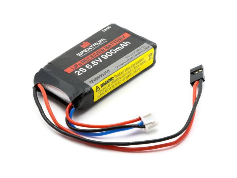 Spektrum - baterie přijímače LiFe 6.6V 900mAh SPMB900LFRX