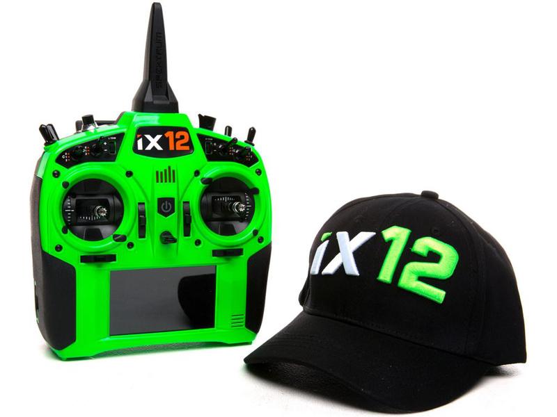 Spektrum iX12 DSMX zelený pouze vysílač