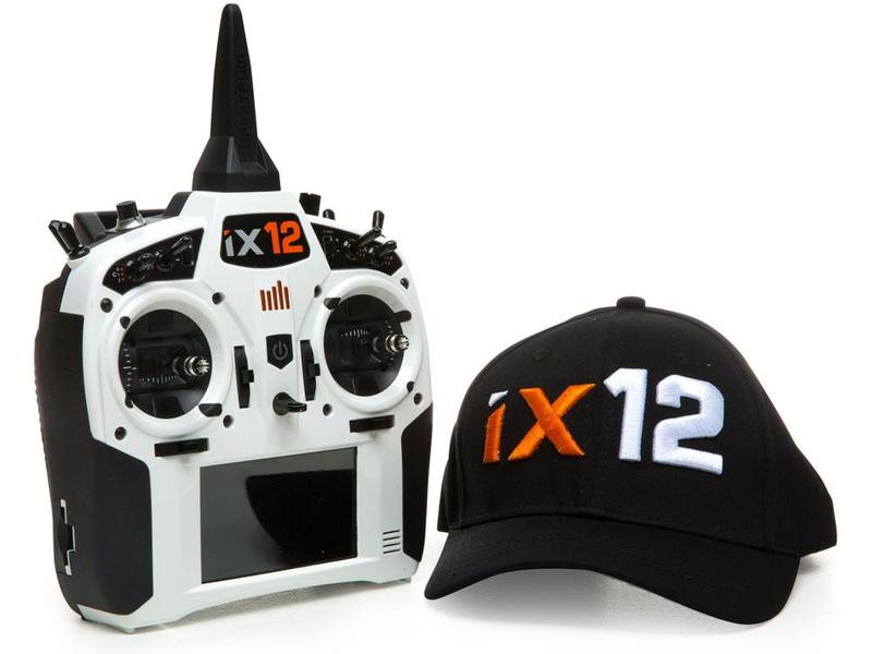 Spektrum iX12 DSMX bílý pouze vysílač