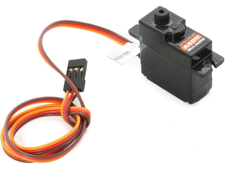 Spektrum - servo S420 17g analogové (400mm) SPMSA420
