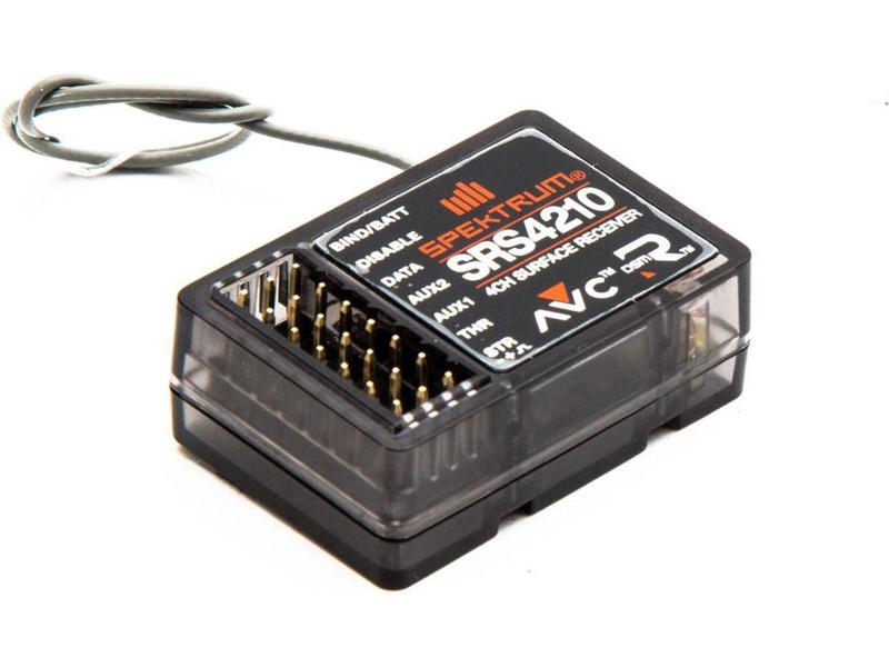 Spektrum DSMR - přijímač 4CH SRS4210 AVC