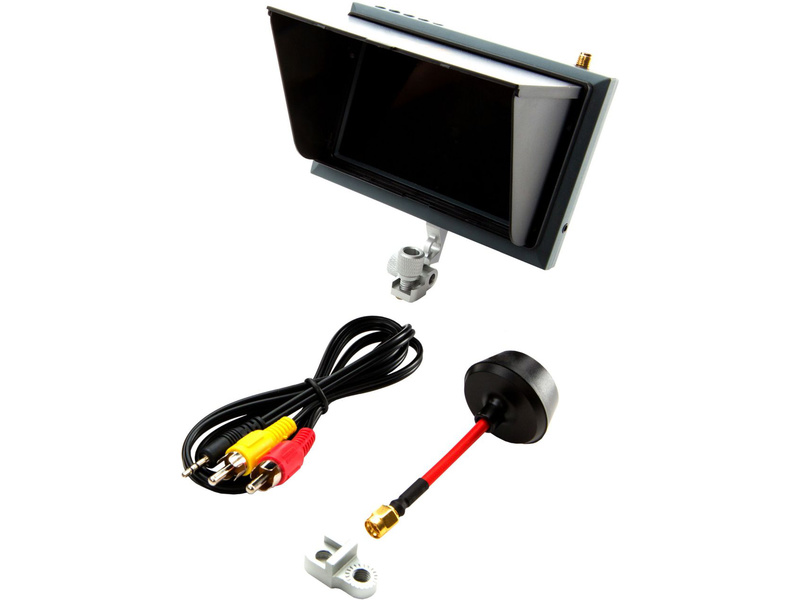 "Spektrum FPV video monitor 4.3"" s držákem a clonou SPMVM430"