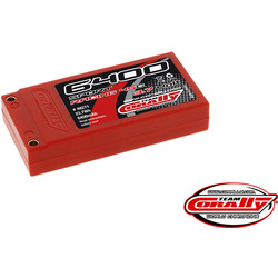 Corally LiPol Sport Racing 6400mAh 3.7V 45C gold 4mm