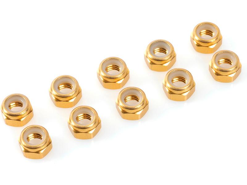 Corally matice samojistná M2 hliník zlatá (10)