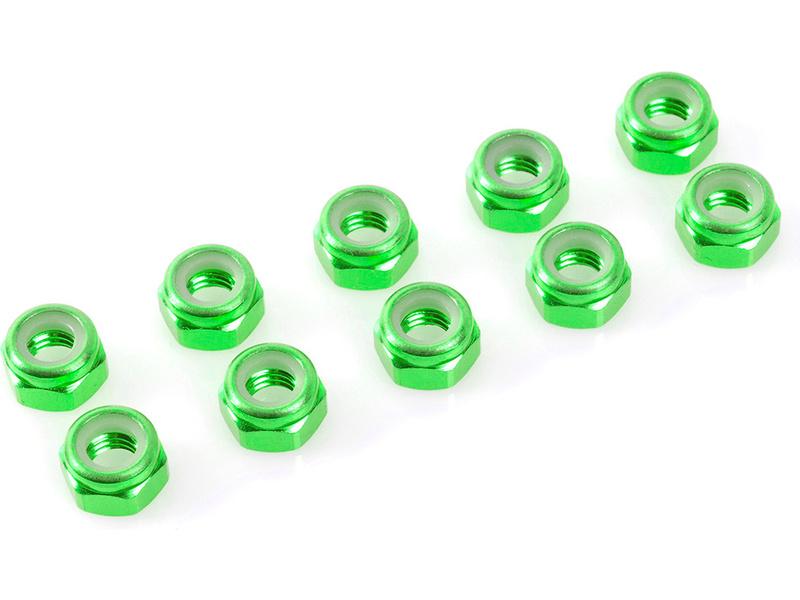 Corally matice samojistná M2 hliník zelená (10)